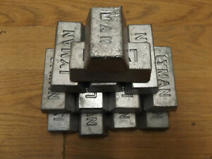 Hard lead for casting from recycled bullets $20.00