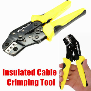 1pack Insulated Cable Connector Terminal Crimping Tool Wire Crimper Plier
