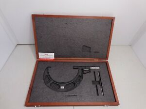 Starrett 6 To 7 Micro lapped Carbide Standard Electronic Outside Micrometer