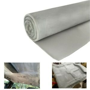 Suede Headliner Fabric Material Foam Backed Car Roof Sagging Replace 36 X 60