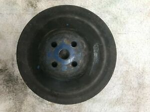 Water Pump Pulley Ford 390 428 7 1 4 Double Sheave C8ae 8509 A