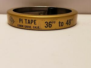 Pi Tape Periphery 36 48 Quality Inspection 1 2 Inch Wide Tape Measure T26