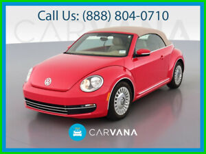 2015 Volkswagen Beetle Classic 1 8t Convertible 2d Hill Hold Assist Control Heated Seats Bluetooth Wireless Side Air Bags Head