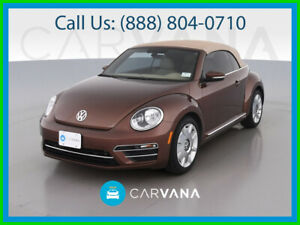 2017 Volkswagen Beetle Classic 1 8t Sel Convertible 2d Power Windows Side Air Bags Bluetooth Wireless Dual Air Bags Keyless Entry