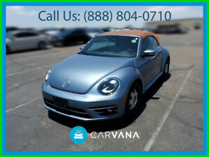 2019 Volkswagen Beetle Classic 2 0t Final Edition Sel Convertible 2d Abs 4 Wheel Electronic Stability Control Leather Air Conditioning Push Button