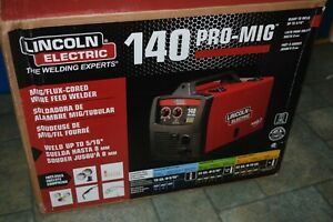 Lincoln Electric 140 Pro Mig Flux Corded Wire Feed Welder K2480 1 New Open Box