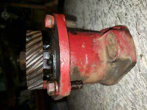 Vintage Farmall H Tractor Engine Distributor Magneto Drive Gear Assembly Ihc