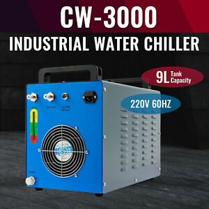 9l Water Chiller For 50w 60w 80w 100w Co2 Laser Engraving Machines Cw 3000 220v