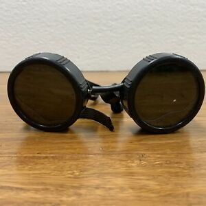Vintage Safety Glasses Welding Goggles Steampunk Cosplay Industrial Antique