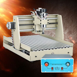 3axis Cnc 3040t Router Engraver Desktop Milling Machine For Industry Ac110v New