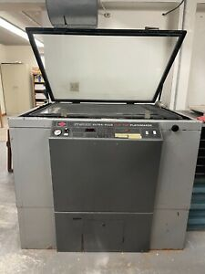 Nuarc Systems Flip Top Ultra plus Platemaker Ft40v3up For Vacuum Exposure System