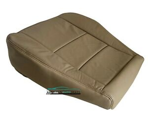 Fits 2001 2004 Toyota Sequoia Driver Bottom Synthetic Leather Seat Cover Tan
