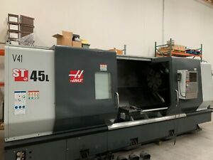 2018 Haas St 45l Cnc Lathe 18 In Chuck 7 In Bar Capacity Live Tooling