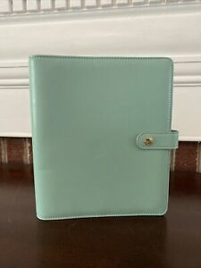Simple Stories Carpe Diem Planner Binder Only Robins Egg Blue New Without Box