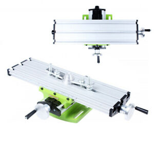 Multifunction Worktable Milling Machine Cross Slide X Y Axis Bench Vise Drill Us