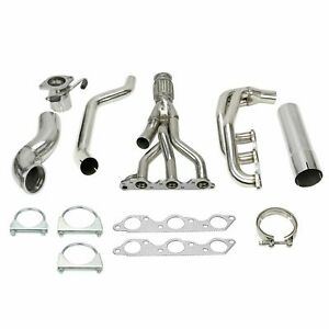 For Grand Prix Gtp Regal Impala 3 8l V6 Stainless Racing Manifold Header Exhaust