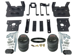 Air Helper Spring No Drill Bolt On Over Load Kit For 2011 16 Ford F250 F350 4x4
