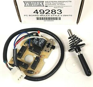 New Western 49283 Fisher 8334 Joystick Controller Circuit Pc Board 56369 8292