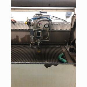 2008 Flow Bengal Cnc Waterjet Cutting System 2x4 Table Size 11 Hp 40k Psi