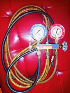 Yellow Jacket Test And Charging Manifold For R410a R22 R404a