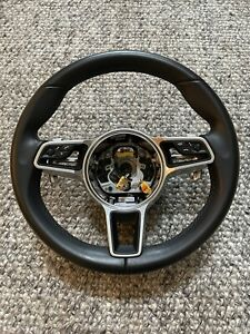 Porsche Oem Leather Pdk 911 Steering Wheel Boxster Cayman 997 991 2 991 1 Cayman