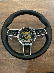 Porsche Oem Leather Pdk Cayenne Steering Wheel Boxster Cayman 997 991 2 911