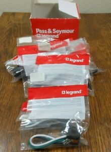 11 New Pass Seymour Legrand 1374 1 Snap In 3 Wire Device