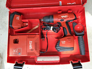 Hilti Sf 150 a Cordless Drill driver 2 Sfb 150 Batteries And Sfc 7 18 Charger
