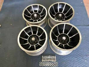 4 Polished 15x8 1 2 10 Vector Style Wheels Chevy 5 On 4 3 4 Chevy Van Nice