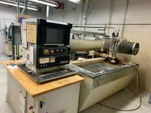 2006 Omax 2652 Cnc Waterjet Cutting System 2x5 Table Size 30 Hp 50k Psi