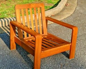 Scanteak Lounge Chair Ikon 1 Seater Excellent Condition Rare