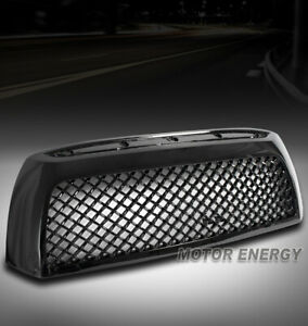 For 07 08 09 Toyota Tundra Front Upper Honeycomb Mesh Style Grille Glossy Black