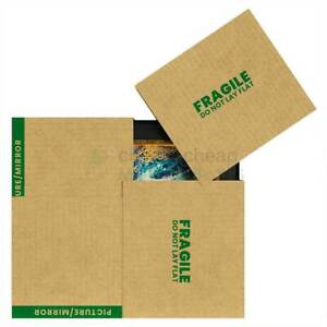 9 Large Picture Boxes 40 X 3 5 X 60 Cheap Cheap Moving Boxes