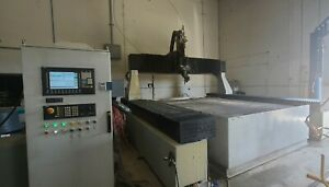 2008 Flow Af 1280 Cnc Waterjet Cutting 5 Axis 8x12 Table Size 100 Hp 60k Psi