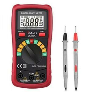 Tacklife Dm02a Classic Digital Multimeter Auto ranging Multi Tester With Non