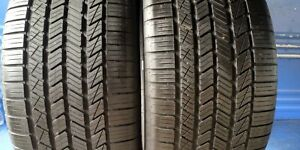 2 Goodyear Eagle Touring 295 40 20 Porsche With 9 75 32nd Tread Left 106 V