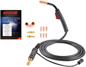 Mig Welding Gun Torch Stinger 150amp 10ft 3m Replacement For Lincoln Magnum 100