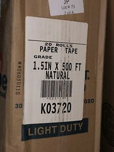 20 Rolls Intertape Water Activated Gummed Packing Tape 1 5 X 500 K03720