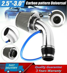 Cold Air Intake Filter Induction Kit Pipe Power Flow Hose System Car Accessory