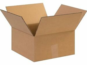 Si Products 12 X 12 X 6 Shipping Boxes Ect Rated Kraft 121206