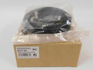 Kenwood Kct 22 Remote Control Cable For Commercial Two way Radio new In Box