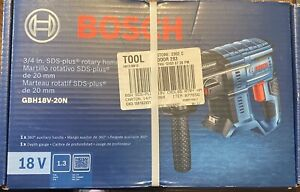 Bosch Gbh18v 20n 18v 3 4 In Sds Plus Rotary Hammer Tool Only