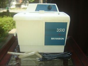 Branson Ultrasonic Cleaner 3510r Heated With Timer