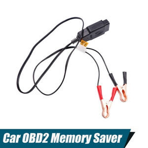 Obd2 Battery Replace Tool Memory Saver With Indicator Light For Suv Car Repair