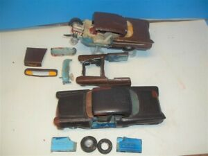 Vintage 1958 Chevy 2 Stock Car Racing Model Cars Parts
