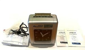 Acroprint Atr120 Electronic Top loading Time Recorder Time Clock briefly Tested