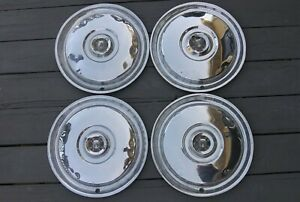 1955 1956 Ford Hubcap Set Of 4 15