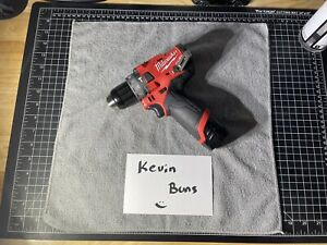 Milwaukee 2504 20 M12 Fuel Brushless Cordless 1 2 In Hammer Drill W Goodies