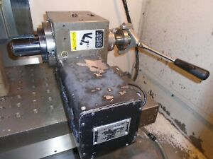 Fadal Rotary Table Vh65 W 5c Collet Attachment