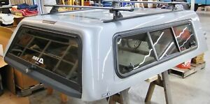 Are C Series Camper Shell 2020 Chevy 2500 3500 Silver Ice With Yakima Roof Rack